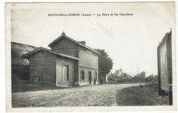NOUVION Le Comte Près De La Fere - La Gare Et Les Carrières - Bon état. - France