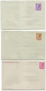 3 BIGLIETTI POSTALI ITALIA TURRITA (SIRACUSANA) L. 25 L. 30 L. 40 NUOVI 1955/1966 - 6. 1946-.. Repubblica