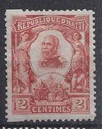 Haiti 1904  2c (*) MH - Haiti