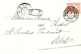 1903 Bk Met Firmalogo Van 'sHERTOGENBOSCH Naar Osch - Marcofilia