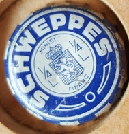 Vieille Capsules Kroonkurk SCHWEPPES - Soda