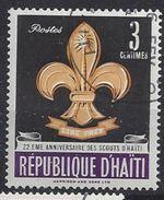 Haiti 1962 Boy Scout Movement  3c (o) - Haiti