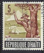 Haiti 1962 Boy Scout Movement  5c (o) - Haiti