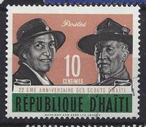 Haiti 1962 Boy Scout Movement  10c (o) - Haiti