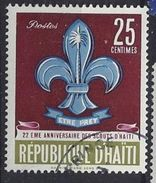 Haiti 1962 Boy Scout Movement  25c (o) - Haiti
