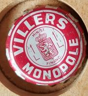 Vieille Capsules Kroonkurk VILLERS MONOPOLE - Soda