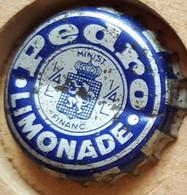 Vieille Capsules Kroonkurk PEDRO LIMONADE - Soda