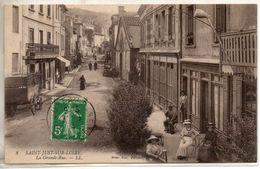 42. Saint Just Sur Loire. La Grande Rue - Saint Just Saint Rambert