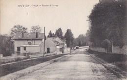 78 JOUY En JOSAS  Coin Du VILLAGE   Maisons Route D' ORSAY Timbre 1915 - Jouy En Josas