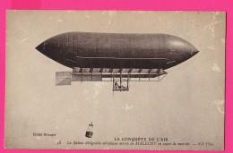 CPA (Réf :Z620)  LE BALLON DIRIGEABLE Aéroplane Mixte De Malécot (AVIATION) - Luchtschepen
