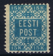 Estonia: Mi Nr 2 A  MH/* Falz/ Charniere   1918 - Estonie
