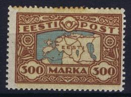 Estonia: Mi Nr 54 MH/* Falz/ Charniere   1924  Has A Spot - Estonie