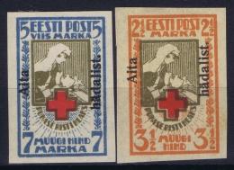 Estonia: Mi Nr 46B - 47B MH/* Falz/ Charniere   1923 1 Stamp Has A Spot Signed/ Signé/signiert - Estland