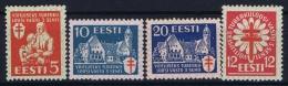 Estonia: Mi Nr 102 - 105 MH/* Falz/ Charniere   1933 - Estland