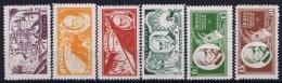 Latvia Lettland: Mi Nr 153 A - 158 A MH/* Falz/ Charniere 1930 - Lettland