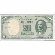 TWN - CHILE 126b1 - 5/50 Centesimos/Pesos 1960-61 Serie C 12-25 - Signatures: Mackenna & Ibañez UNC - Chile