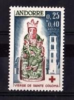Andorre - 1964 - N° 172 - Neuf ** - Croix-Rouge - French Andorra