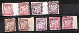 Andorre - Lot De Timbres-Taxe De 1931/32 - Neufs ** - Cote 95 - Portomarken
