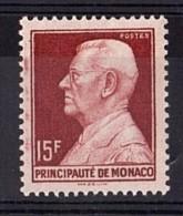 Monaco - 1948/49 - N°  305B - Neuf ** - Petit Défaut D'essuyage - Louis II - Variétés