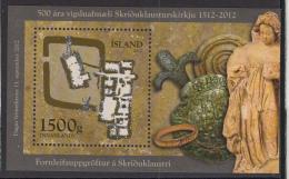 Iceland 2012 MNH Scott #1284 Souvenir Sheet Day Of The Stamp - Journée Du Timbre