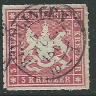 Wurtemberg - Yvert N31 Oblitéré   Bce10211 - Wuerttemberg