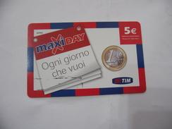 RICARICA TELEFONICA USATA TIM  MAXI DAY. - Italia