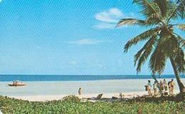 Mexique        63         CANCUN.La Playa Del Hotel El Presidente Y El Mar Caribe - Mexique