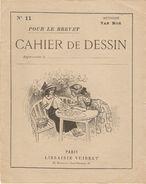 CAHIER DE DESSIN POUR LE BREVET N° 11 VAN MOÉ LIBRAIRIE VUIBERT - BRODERIE DENTELLE POCHOIR - 4 Scans - - Non Classés