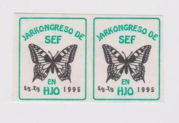 (EGl) Label - Glumarko - From Sweden - El Svedio - Kongreso En Hjo - 1995 - Esperanto