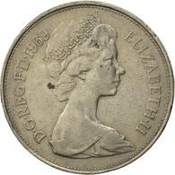 Grande-Bretagne, Elizabeth II, 10 New Pence, 1969, TTB, Copper-nickel, KM:912 - 1971-… : Monnaies Décimales