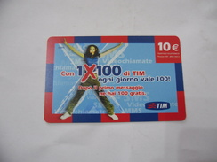 RICARICA TELEFONICA USATA TIM  1X100 - Italia
