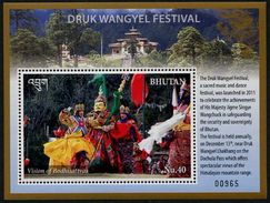 BHUTAN 2016 - Folklore, Festival Druk Wangyel - BF Neufs // Mnh - Bhoutan
