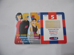 RICARICA TELEFONICA USATA TIM  PAY FOR ME. - Italia