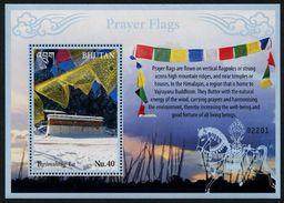 BHUTAN 2016 - Religion, Drapeau De Prière - BF Neufs // Mnh - Bhoutan
