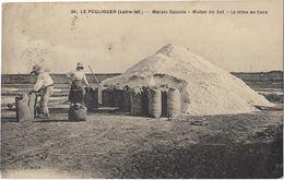 Le Pouliguen - Marais Salants - Mulon De Sel - La Mise En Sacs - Le Pouliguen