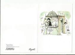 CARTE ENCART DESSIN DE PEYNET - Peynet