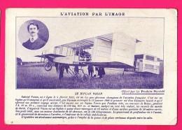 CPA (Réf :Z655)  LE BIPLAN VOISIN (AVIATION) Avec Pub Nyrdahl - ....-1914: Precursors