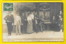 PARIS 12° Rue Claude Decaen? Carte Photo Café () (75) - Arrondissement: 13