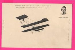 CPA (Réf :Z660) LINDPAINTNER  Sur Appareil Sommer (AVIATION) - ....-1914: Précurseurs