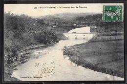 CPA 36 - Eguzon, La Creuse Au Pont De Chambon - France