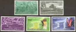 Trinidad And Tobago 1962  SG 300-04 Independence Mounted Mint - Trinidad & Tobago (1962-...)
