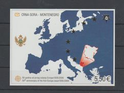 Montenegro   2006  Bloc N°3 Neuf XX ...50° Emission Europa - Montenegro