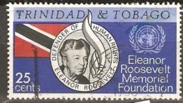 Trinidad And Tobago 1965 SG 312 Eleanor Rosevelt Fine Used - Trinidad & Tobago (1962-...)