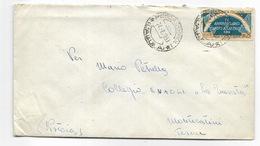 Lire 25 IV Anniversario Del Patto Atlantico Su Busta - 24/8/1953 - 6. 1946-.. Republik