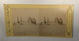 EGYPT     Stereo Photo Photo Stéréoscopique   Constantinople P. SEBAH - Stereo-Photographie