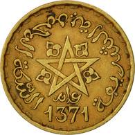 Maroc, Mohammed V, 20 Francs, 1951, Paris, TTB, Aluminum-Bronze, KM:50 - Maroc