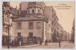 MADRID - Iglesia De San Sebastian Y Calle De Atocha - Madrid