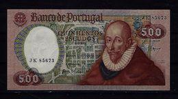 PORTUGAL 500 Escudos - 4.10.1979 - Francisco Sanches  - UNC - Portugal