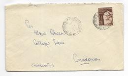Lire 25 Centenario Di Vincenzo Gemiti  Su Busta - 07/01/1953 - 6. 1946-.. Republik