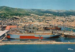L100C_299 - La Ciotat - Vue Aérienne - Le Chantier Naval N° E 13.028.99.2.0622 - La Ciotat
